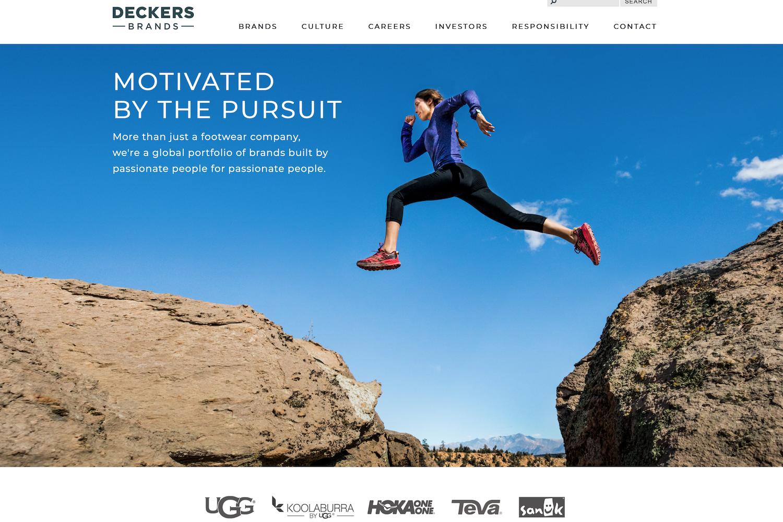 UGG母公司 Deckers上财年销售额突破20亿美元大关,户外品牌 HOKA ONE ONE是最大功臣