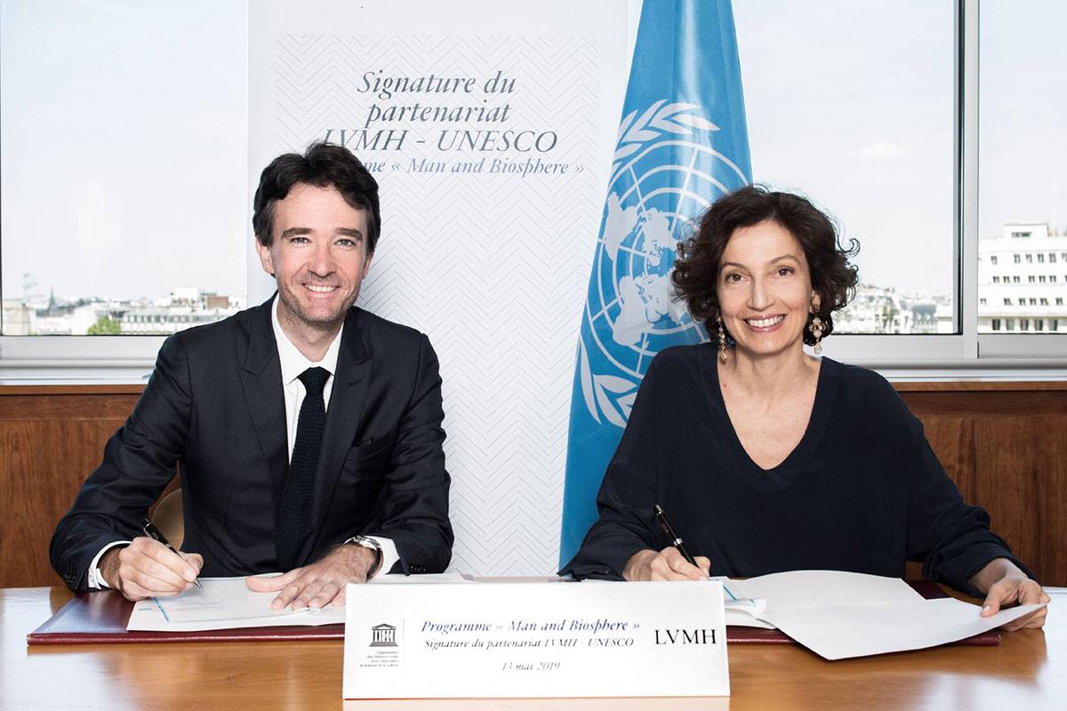 为保护生物多样性献力!LVMH 集团与联合国教科文组织签署5年战略合作协议