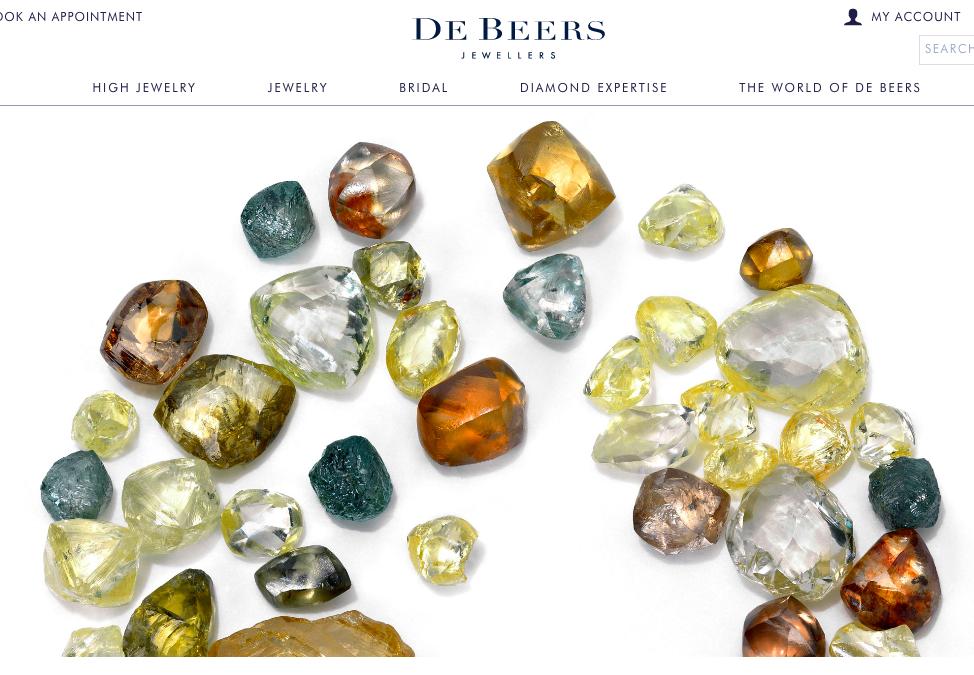De Beers 钻石原石销售额同比大幅下降,中国珠宝市场形势严峻