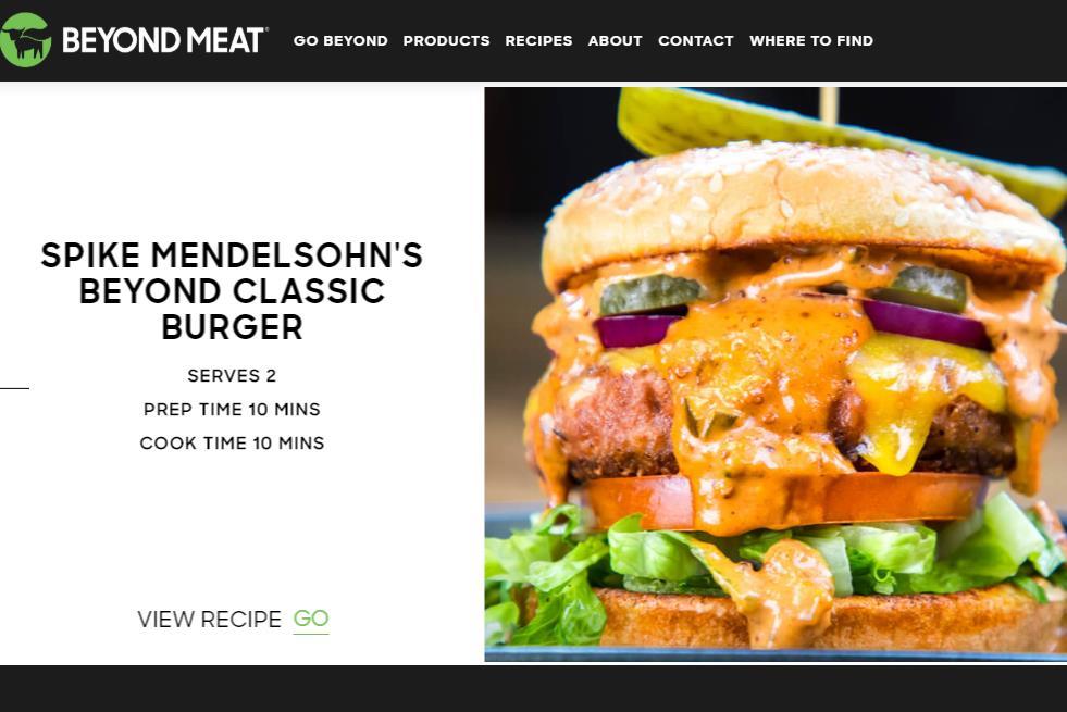 美国高科技素肉初创公司 Beyond Meat 发布上市后首份季报:销售额同比大增 215%