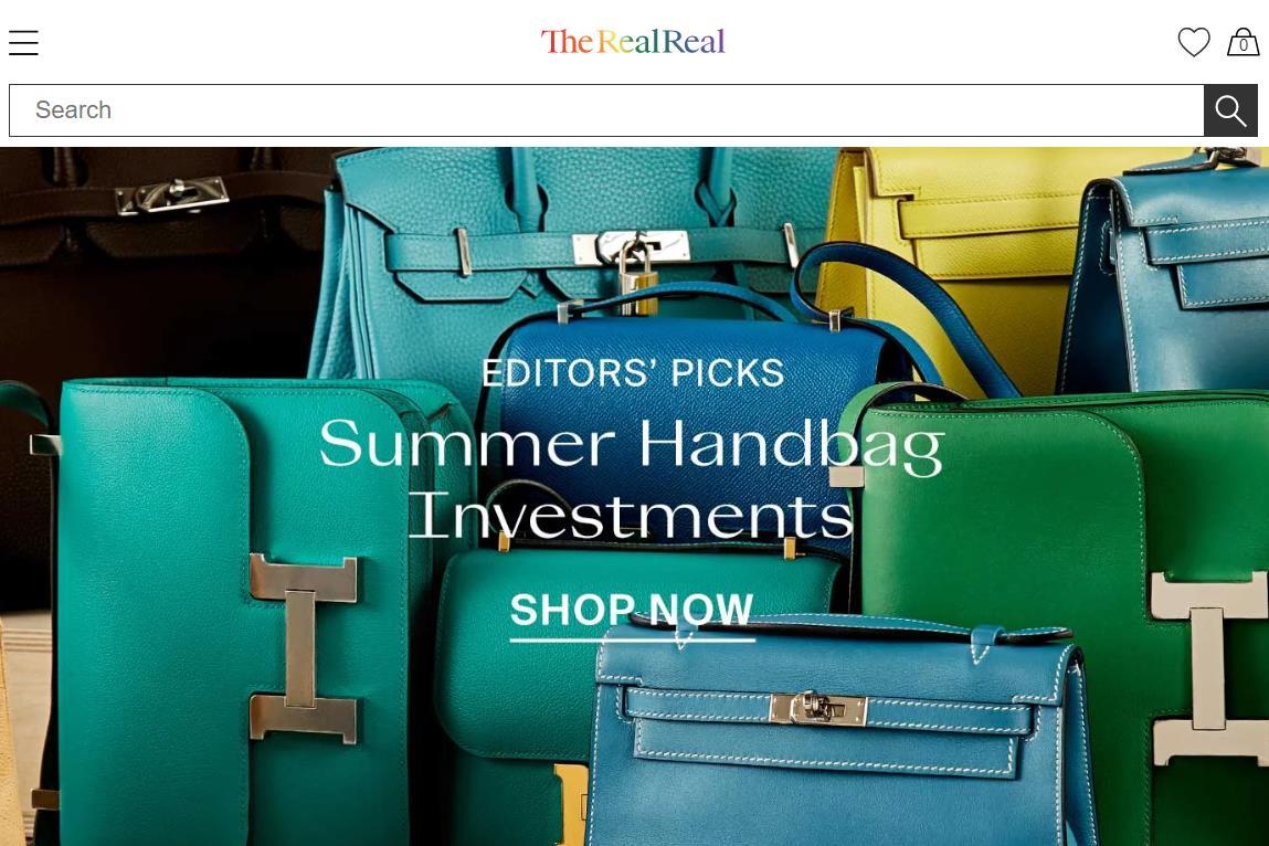 美国二手奢侈品平台 The RealReal 上市在即,最新估值达 15亿美元