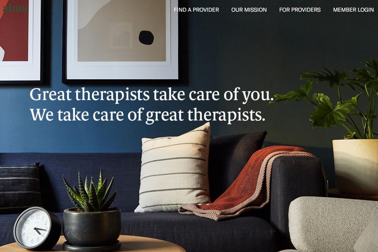 专为心理医生打造的共享办公空间:纽约创业公司 Alma 完成 800万美元A轮融资