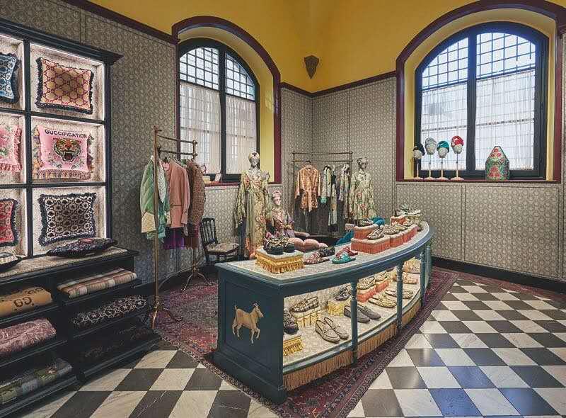 """《华丽志》在佛罗伦萨:从""""博物馆""""到""""花园"""",Gucci 换了一种讲故事的姿势"""