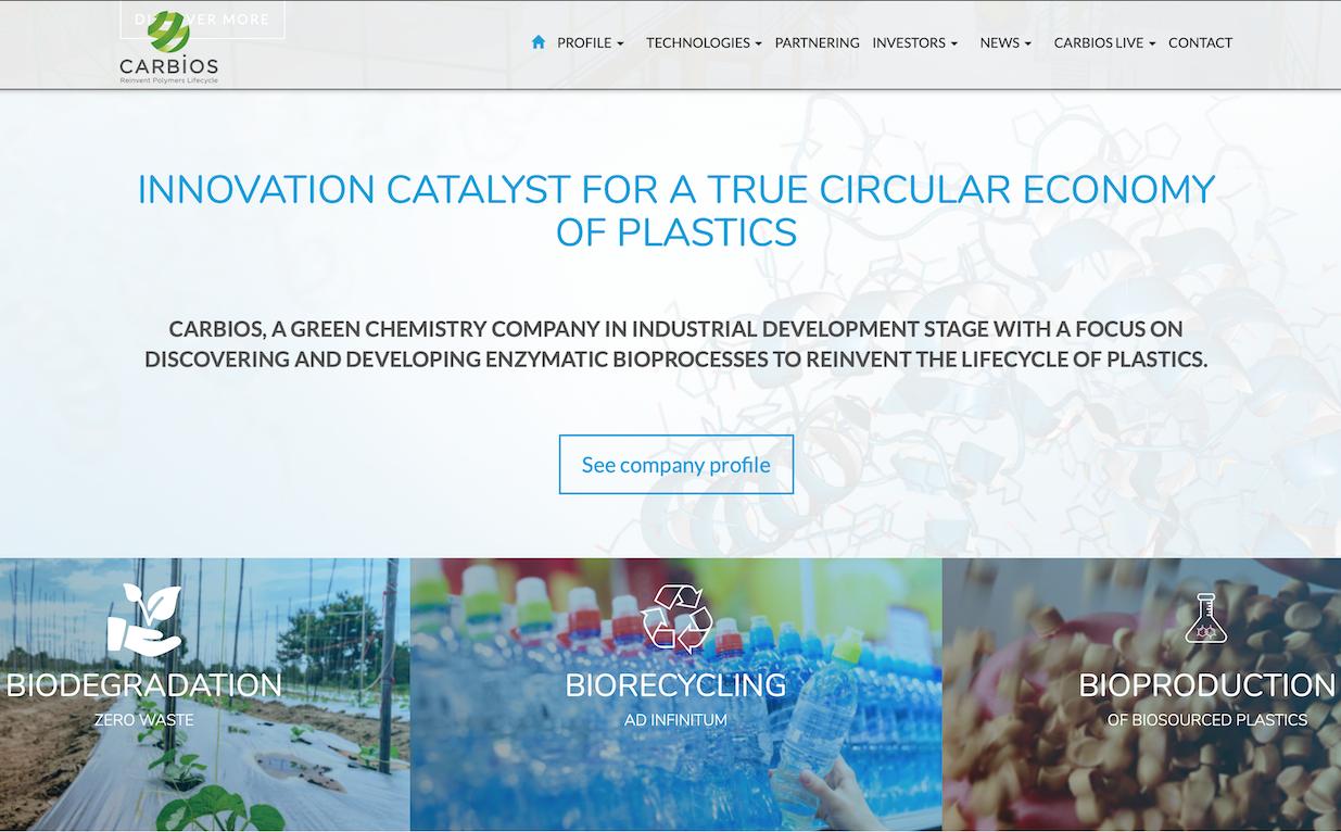 用生物技术实现PET塑料的回收利用:法国公司 Carbios 获欧莱雅旗下风投基金 BOLD 投资