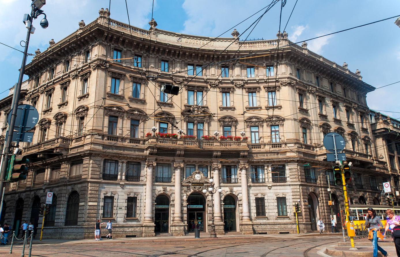 复星国际控股的葡萄牙保险公司将投资1亿欧元,重建米兰地标建筑 Palazzo del Credito Italiano 大楼