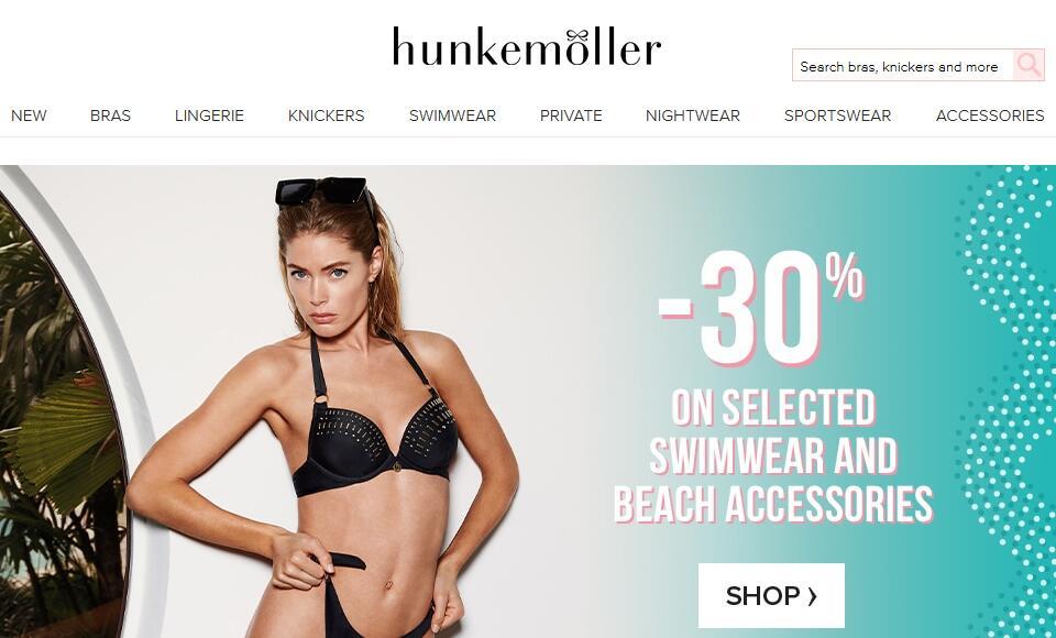 抢滩中国内衣市场,凯雷基金旗下的荷兰百年内衣品牌 Hunkemöller 中国首店落户上海浦东