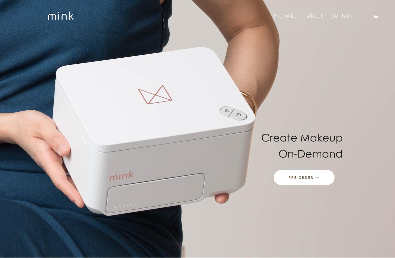 历经五载迭代,3D彩妆打印机 Mink终于正式面世:可一键15秒出成品,1670万种颜色可选