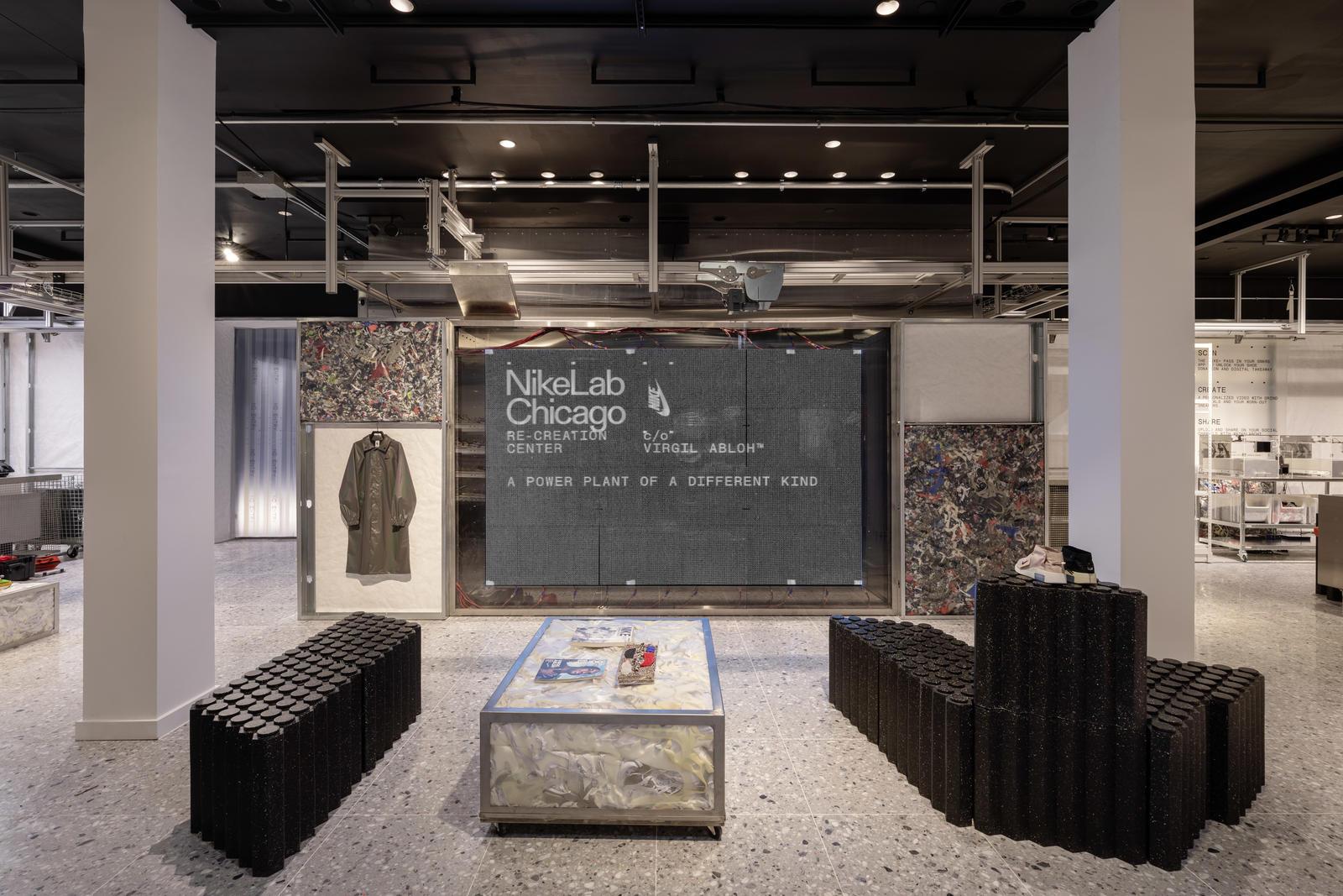 当红潮牌Off-White创始人与 Nike 联手打造 NikeLab 芝加哥再创造中心