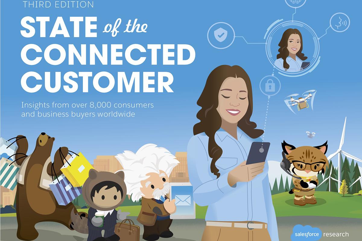 """Salesforce 最新调研报告:消费者希望被当做""""人""""而非""""某类角色""""来对待"""
