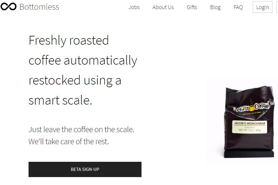 让家里的咖啡永远喝不完!咖啡按需订购平台 Bottomless 完成 190万美元种子轮融资