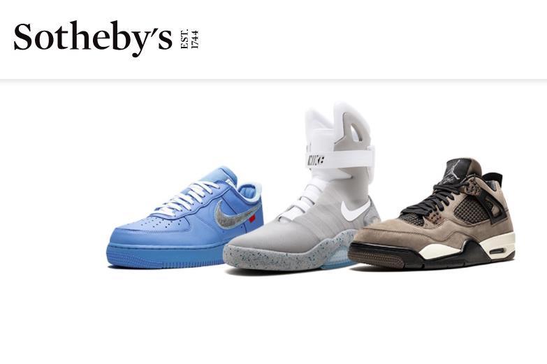 一双1972年的Nike鞋估价16万美元!苏富比举办首个珍品运动鞋拍卖会