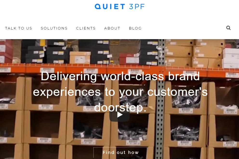 专门服务互联网新锐品牌,Quiet Logistics 借助仓库机器人提高配送效率