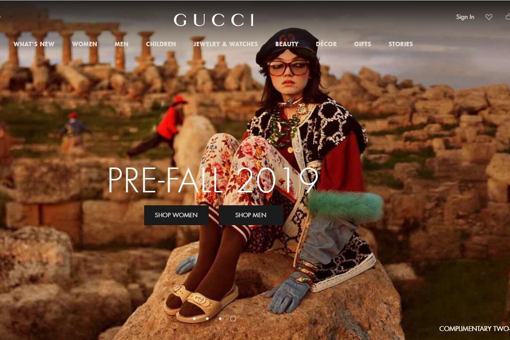 开云集团公布 2019上半年财报:盈利能力达到历史最高点,但旗舰品牌 Gucci 增速放缓