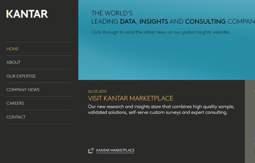 贝恩资本收购全球最大传播集团WPP旗下数据分析部门Kantar60% 股权,估值约40亿美元