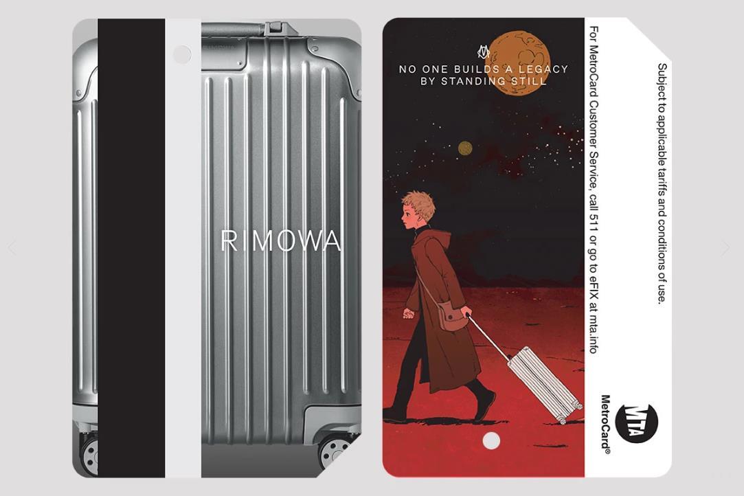 Rimowa 与纽约公共交通管理局合作,推出四款限量版纽约地铁卡