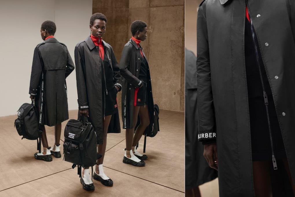 继 Prada 之后,Burberry 也与意大利尼龙纱线生产商 Aquafil 合作,推出再生尼龙产品