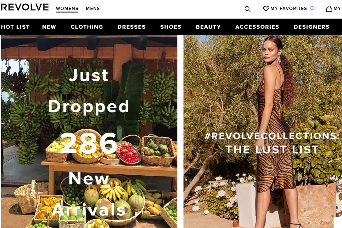美国时尚电商 Revolve 上市后首次公布财务数据:销售额与活跃用户同比增长超过 20%