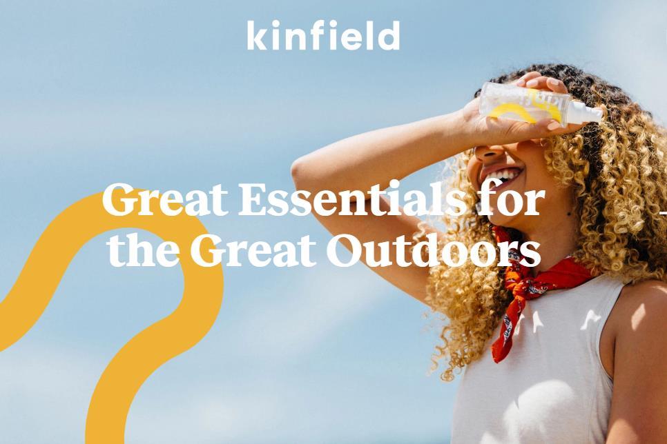 又一个互联网美容品牌 Kinfield:定位于户外生活方式+天然清洁