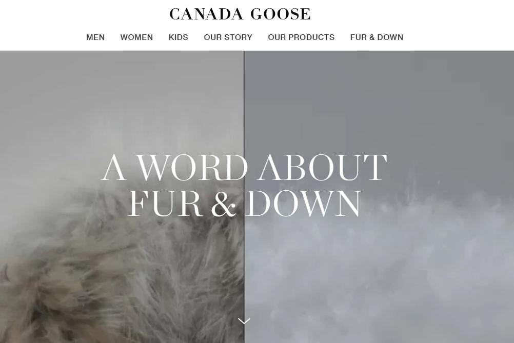Canada Goose 修改官网关于皮毛来源的视频和信息,引发股价下跌
