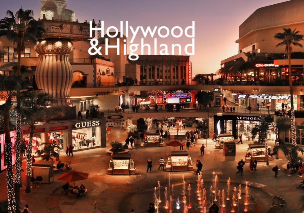 美国私募基金 Gaw Captial 联手房地产开发商 DJM 收购好莱坞著名购物中心 Hollywood & Highland