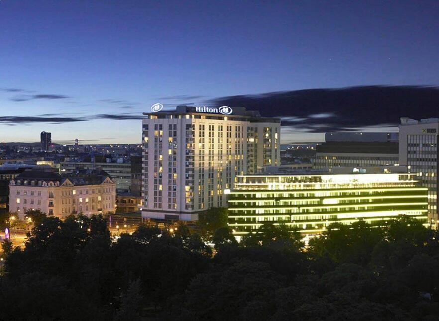 欧洲第三大酒店、维也纳希尔顿花园酒店的产权被韩国财团以3.75亿欧元收购