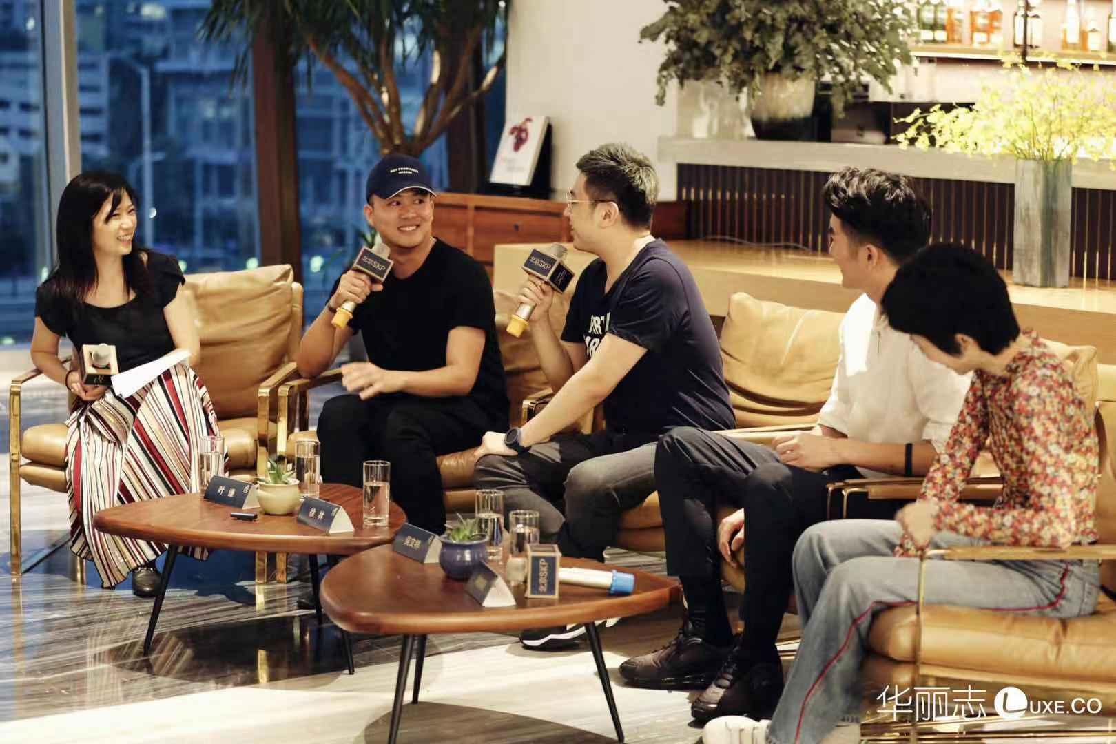 不拍电影,我真的会死掉!时装设计师叶谦携团队做客【华丽Talk】畅谈《蕃薯浇米》的创作幕后