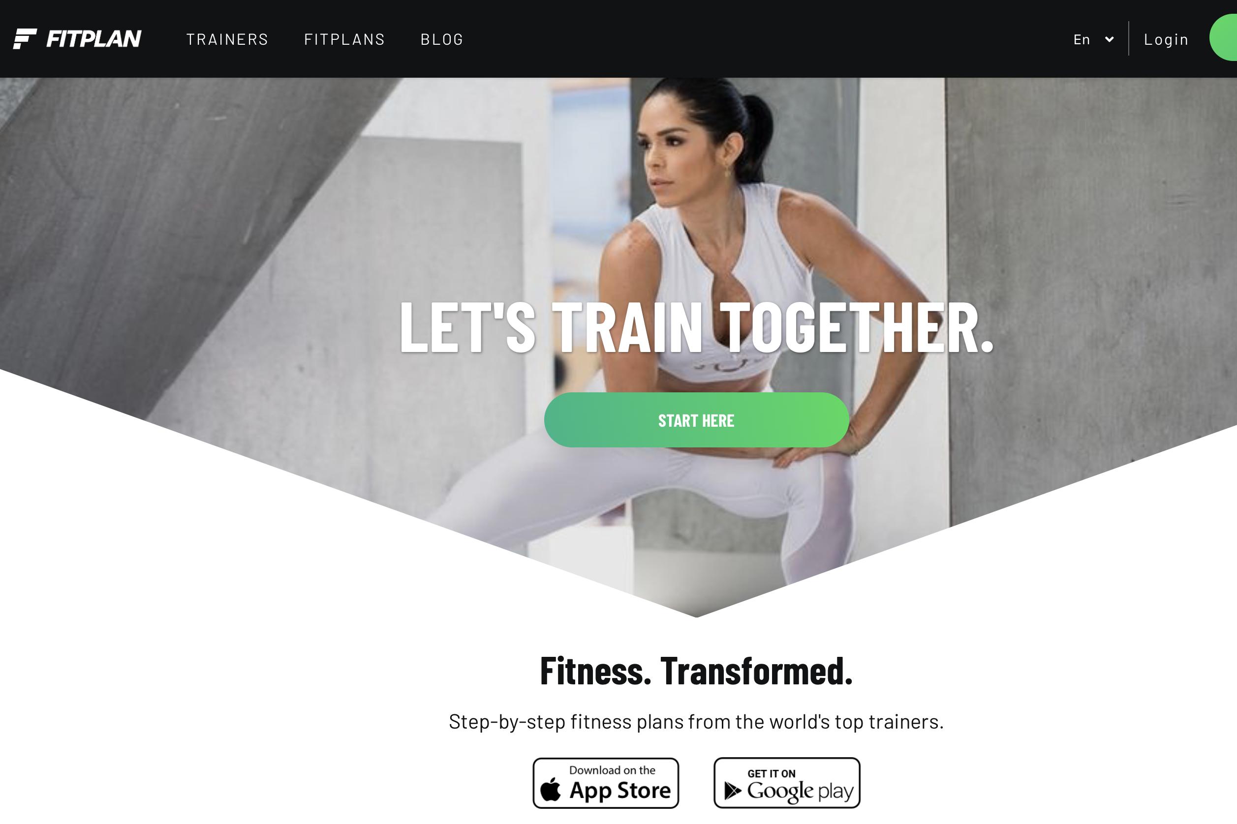服务全球140万健身用户,Fitplan 完成新一轮450万美元融资