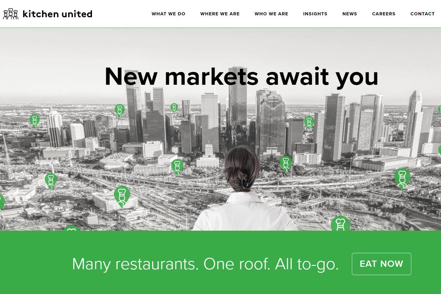 共享厨房初创公司 Kitchen United 完成 4000万美元 B 融资