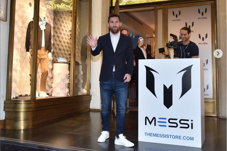 足球巨星梅西正式推出同名男装品牌 Messi,价格不贵每周上新