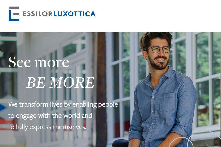 眼镜业巨无霸 Essilorluxottica 公布未来五年计划:年销售额保持中个位数增长,经营利润达6亿欧元