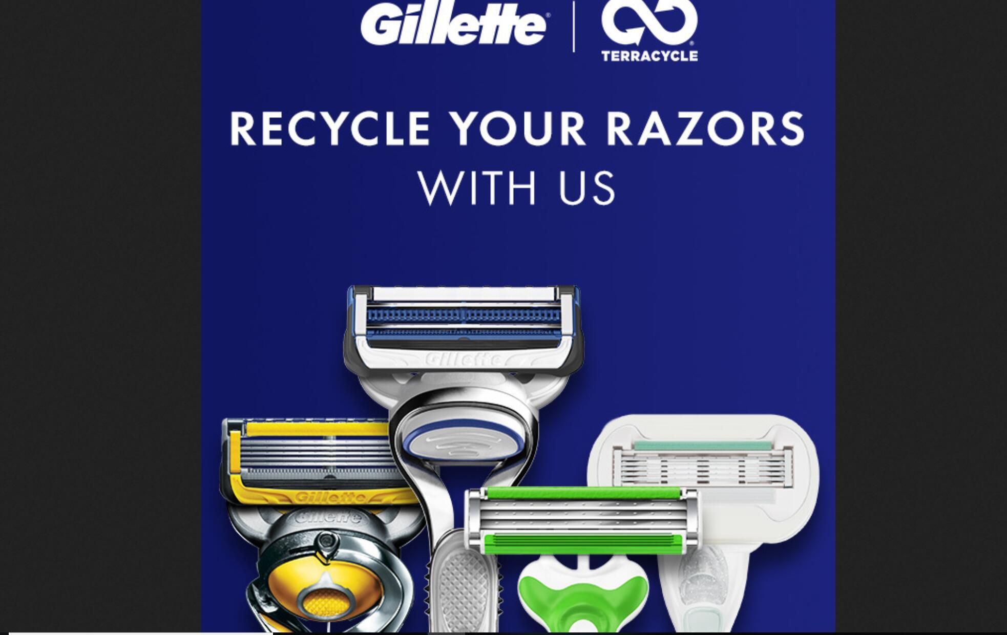 吉列联手创新废品回收公司,将在加拿大全面部署剃须产品回收计划