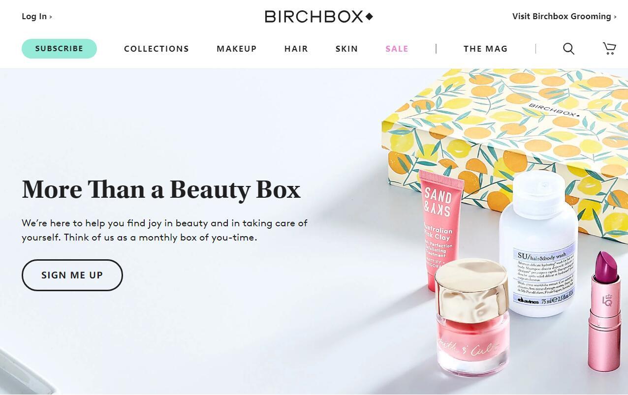 按期订购业务成为英国美妆产品的重要销售渠道
