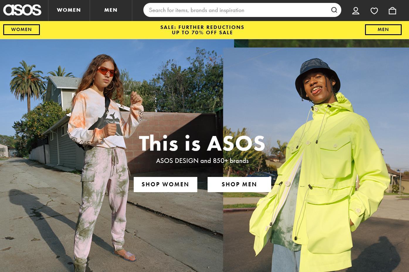 英国时尚电商 ASOS 发布2019财报:净销售额同比增长13%,股价大涨30%以上