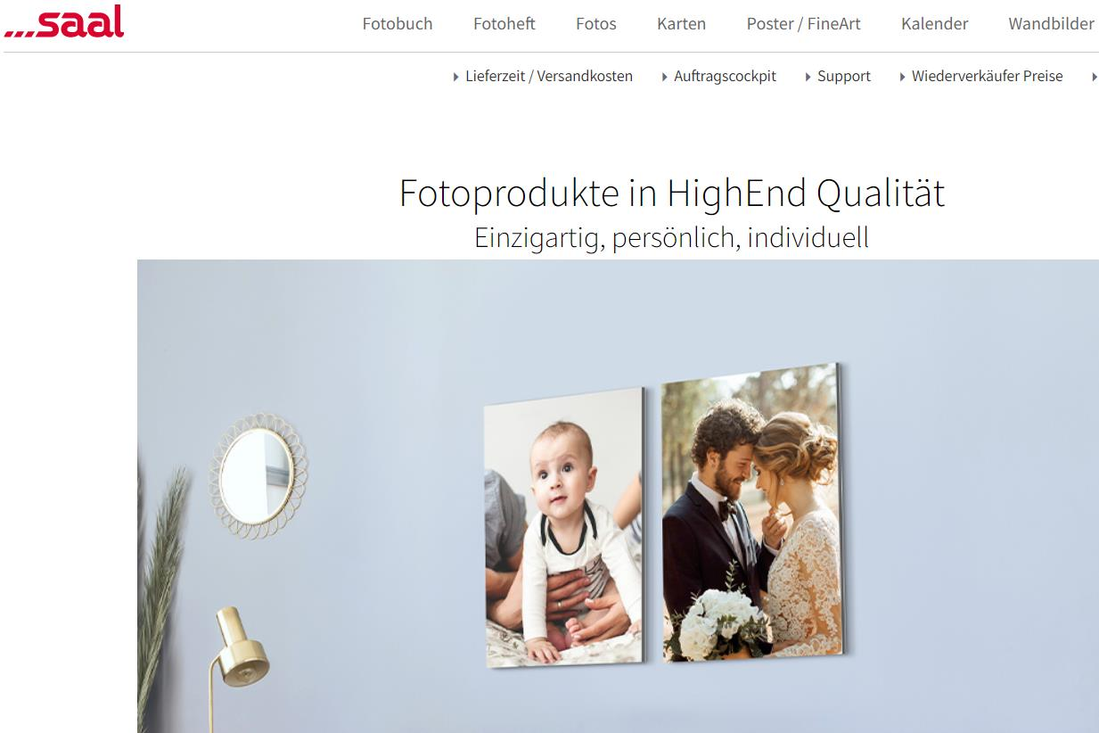 德国高端照片印制线上平台 Saal Digital 获法国私募基金 Ardian 投资