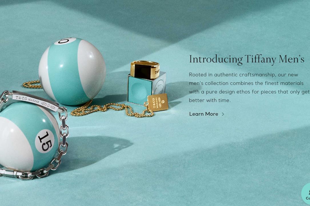 """为触达愈发""""爱美""""的男性消费者,Tiffany 推出首个男士珠宝配饰系列"""