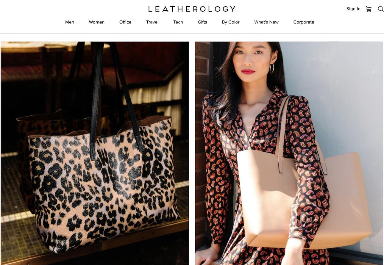 """创立十年自负盈亏,美国华人兄妹创办的互联网皮具品牌Leatherology 如何""""生财有道""""?"""