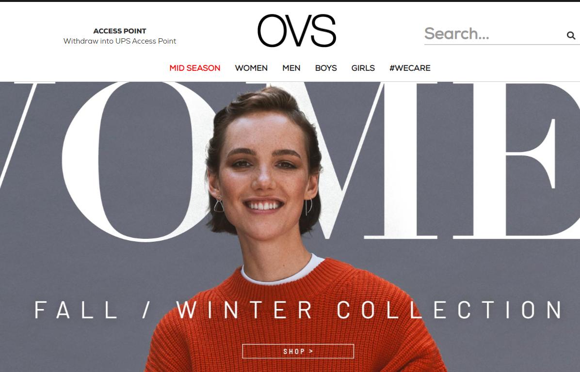 反常天气冲击销售,意大利快时尚集团 OVS 2019年上半年销售额同比减少2.4%