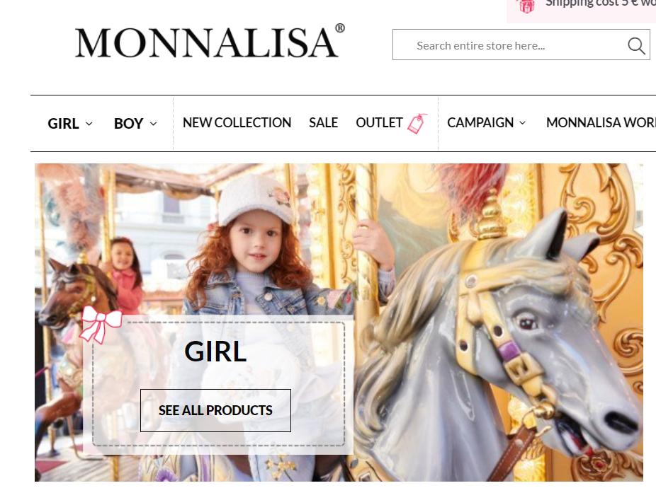 意大利高端童装品牌Monnalisa 在中国台湾开设一家新门店,继续布局亚太市场