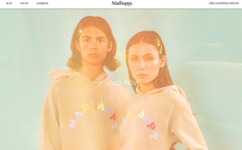洛杉矶生活方式品牌 Madhappy 获 180万美元融资, LVMH 旗下风投部门领投