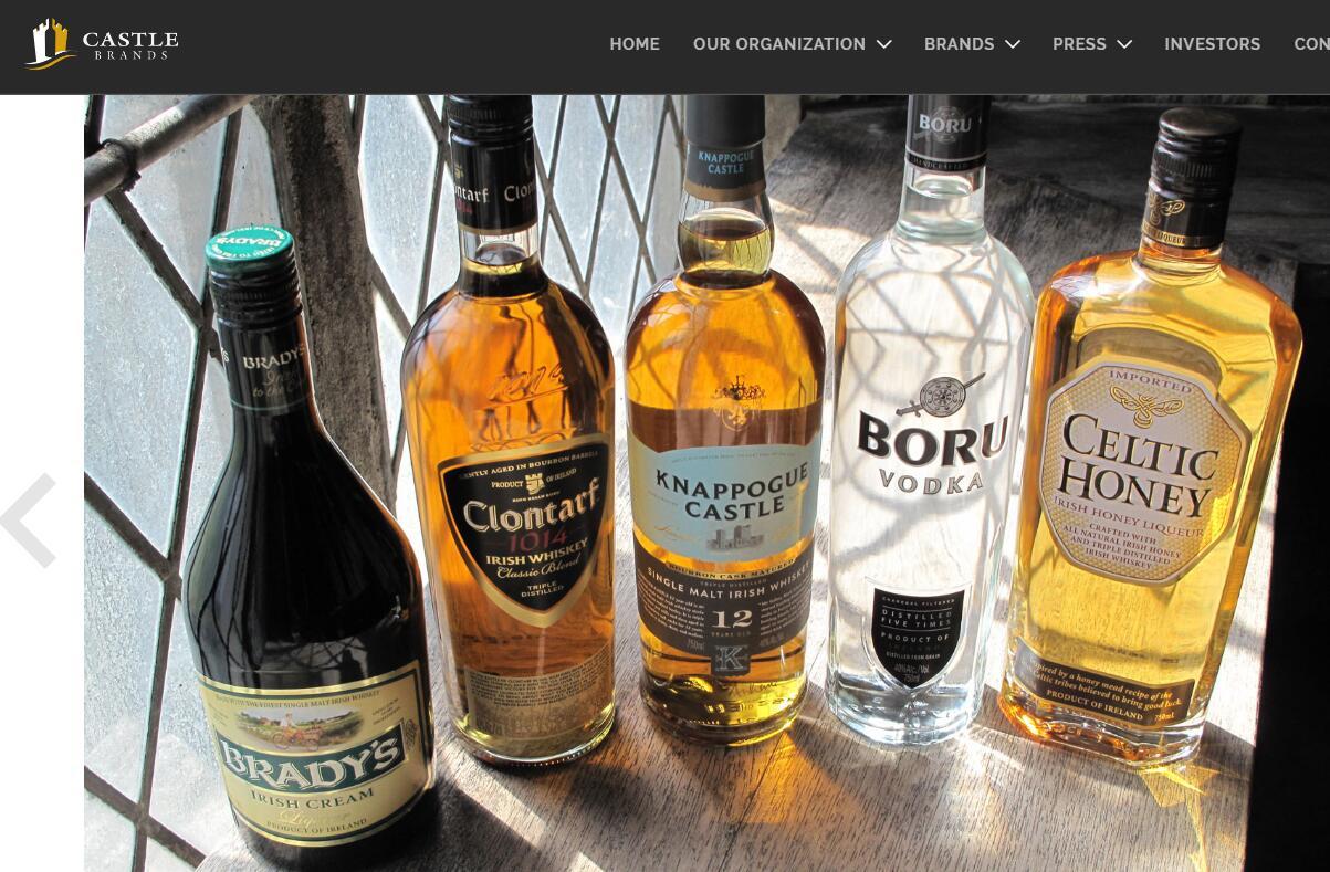 全球第二大葡萄酒烈酒生产商 Pernod Ricard(保乐力加)1.9亿美元收购 Castle Brands控股权