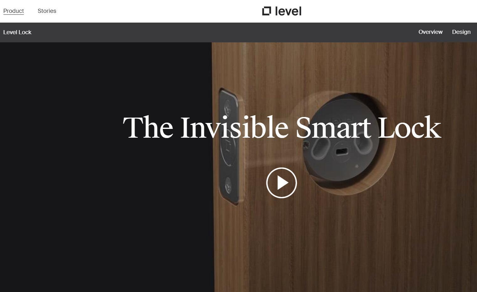 在几分钟内将任何标准门栓转换成隐形智能锁:Level Home 完成沃尔玛领投的7100万美元融资
