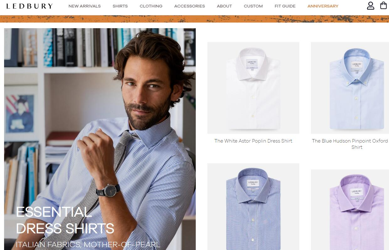 美国互联网男装品牌 Ledbury 完成450万美元融资,将在纽约开设新店