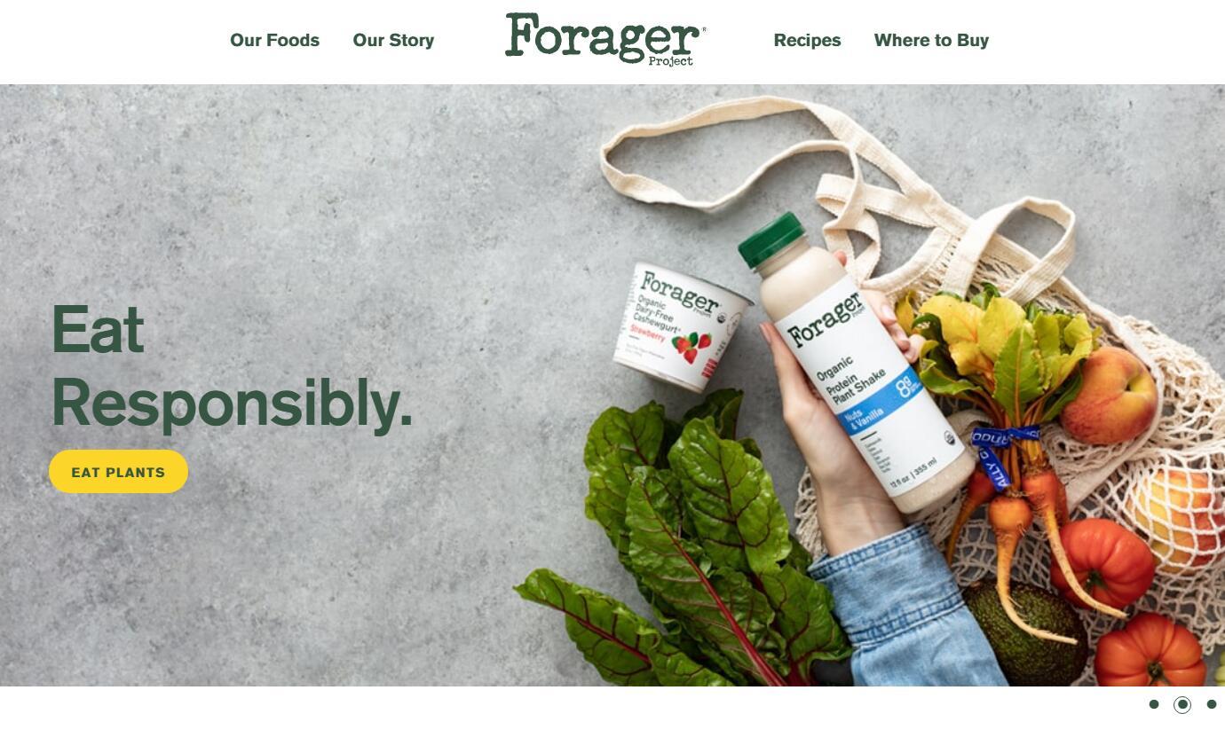 美国有机食品生产商 Forager Project 获达能旗下投资公司少数股权投资
