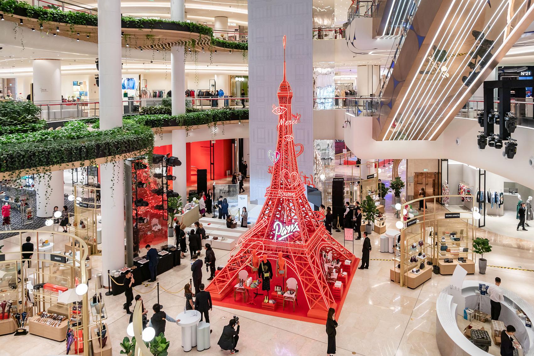 老佛爷百货的中国战略:北京上海之外再开8家店,到2025年实现年销售超10亿欧元