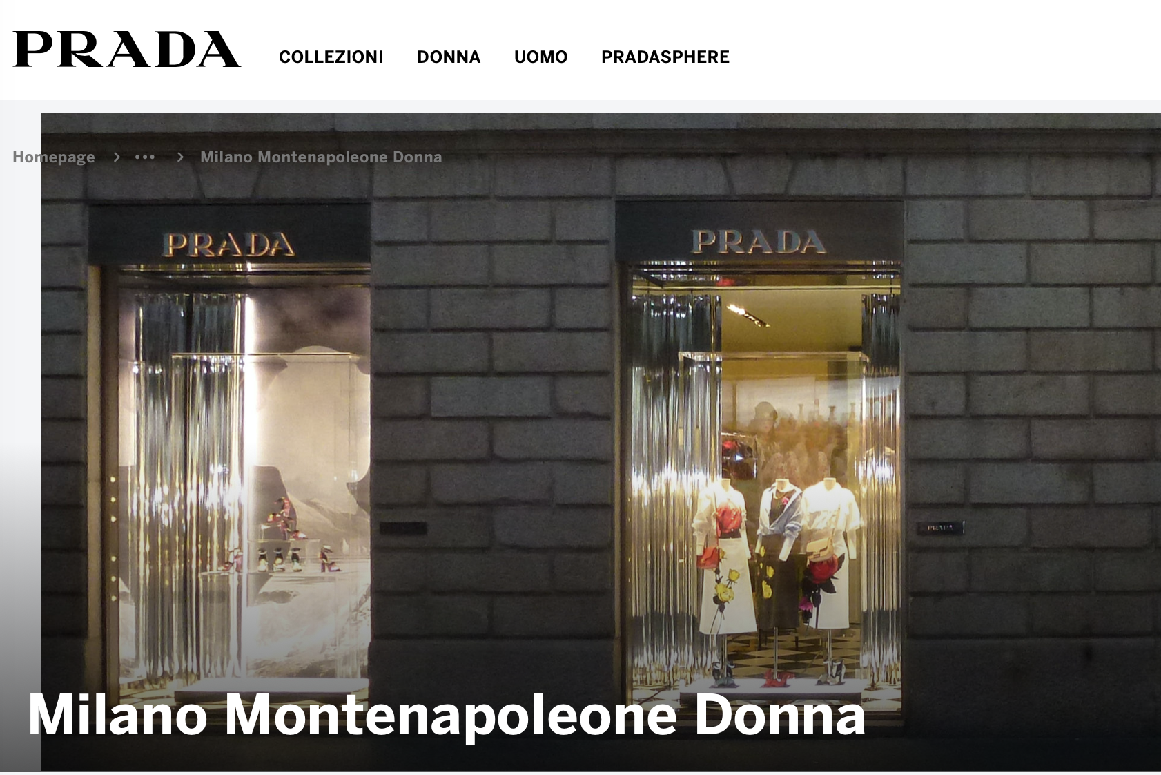 """Prada集团6600万欧元收购掌门人的""""自留地"""":在米兰的四家Prada品牌门店"""