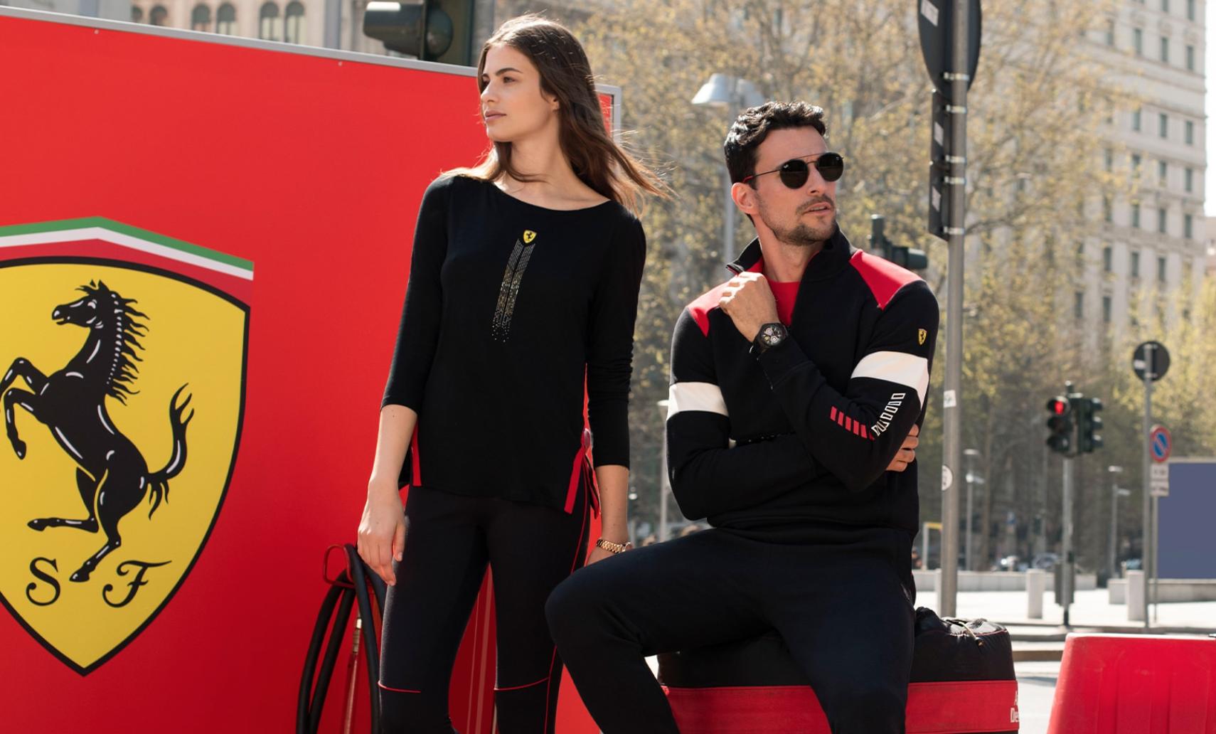 法拉利携手阿玛尼升级服饰系列,任命新创意总监,意欲打造全品类奢侈品牌