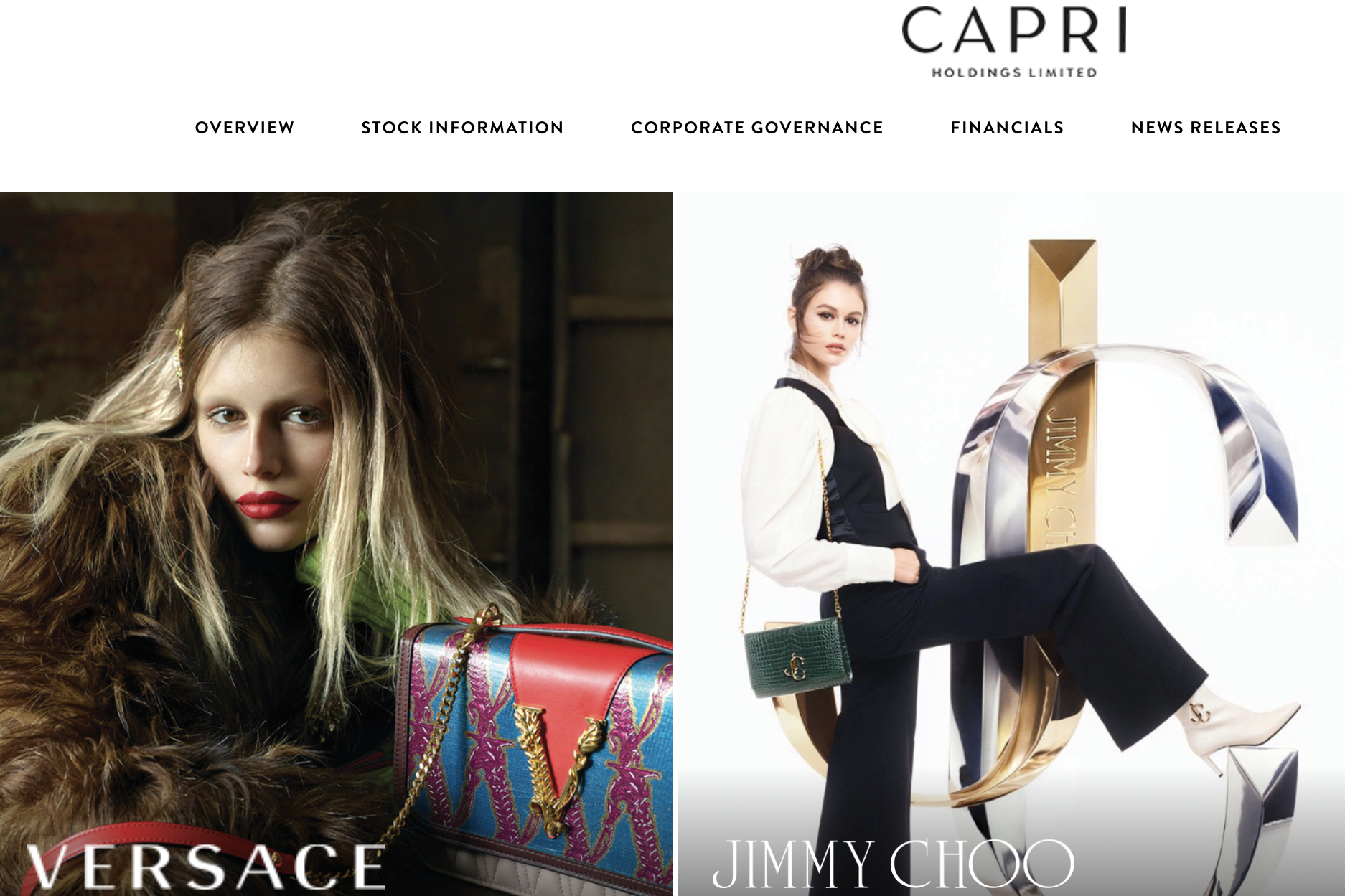 Versace表现超预期,Michael Kors同店销售恢复增长:推动 Capri 集团上季度销售额同比增长15.1%