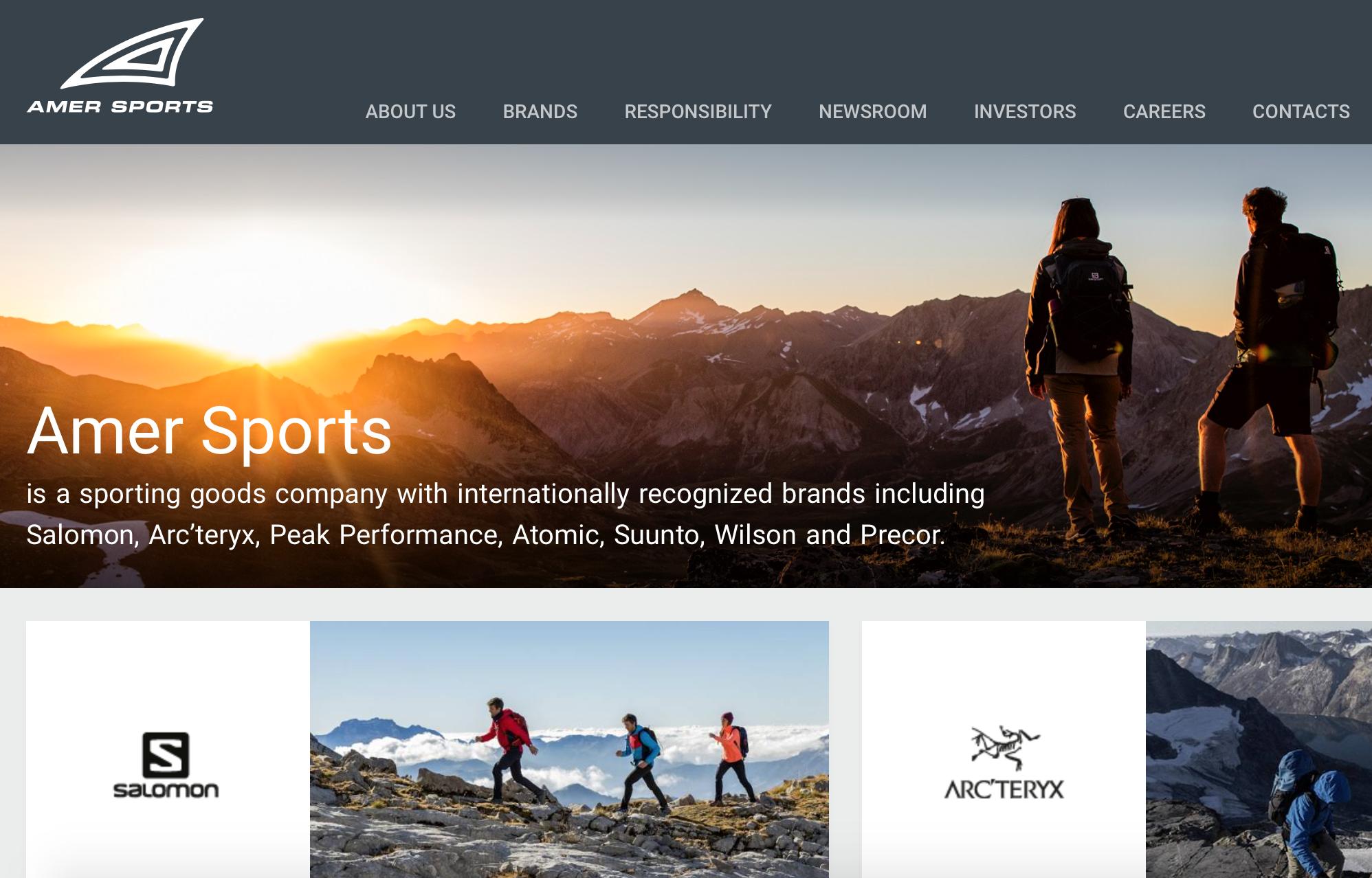 安踏体育间接出售 Amer Sports(始祖鸟母公司)少量股权,交易金额约合10亿人民币