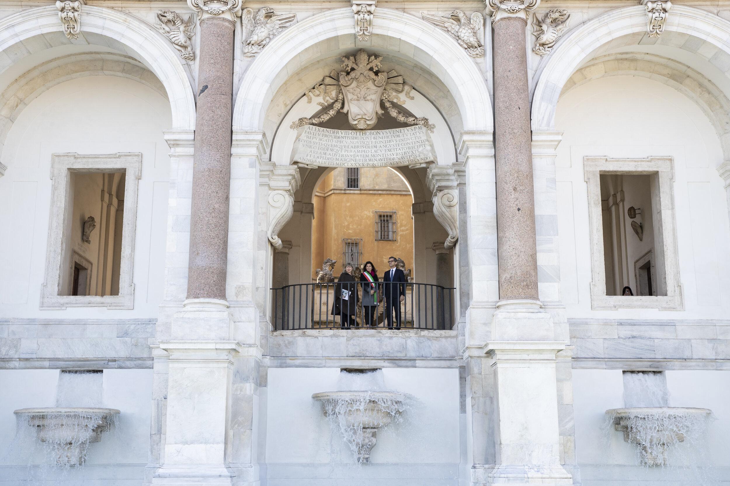 耗资28万欧元,Fendi为罗马修复的四座著名喷泉正式揭幕