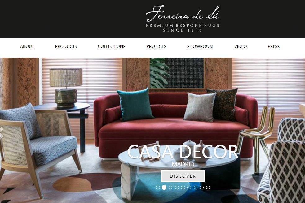 欧洲现存最古老、规模最大的奢华地毯定制公司 Ferreira de Sá 获私募基金投资